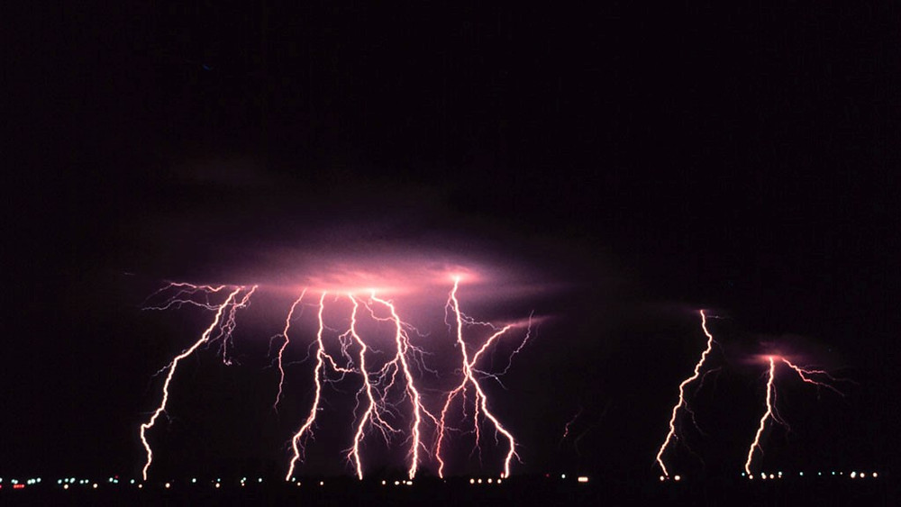 Lightning photo courtesy of NOAA Photo Library, NOAA Central Library, OAR/ERL/National Severe Storms Laboratory (NSSL)