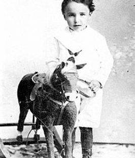 young Wilhelm Reich at age 3