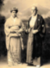 Robert Koch and his Wife Hedwig in Japan 1908