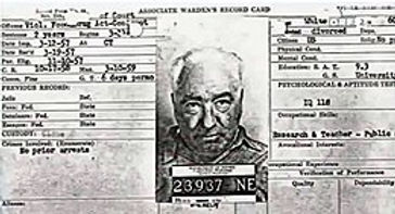 Incarceration and death of Wilhelm Reich
