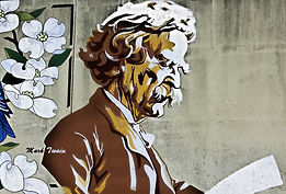 Later in life, Mark Twain and Tesla became close friends.