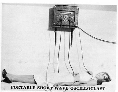 Portable Short Wave Oscilloclast
