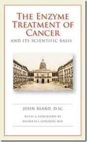 Front Cover of The Enzyme Treatment of Cancer book by John Beard