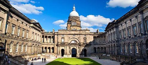 Courtyard of University of Edinburgh
