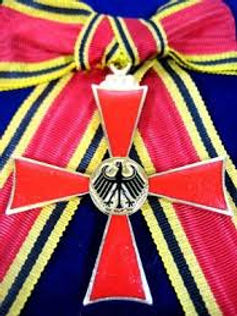 In 1979, Dr. Voll was awarded the Order of Merit from the Federal Republic of Germany.