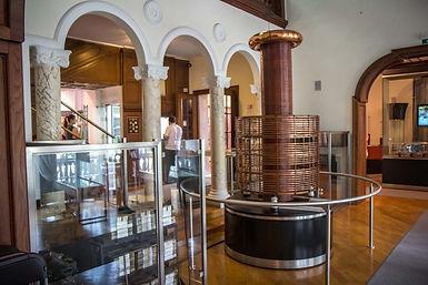 Nikola Tesla Museumin Belgrade, Serbia (interior)