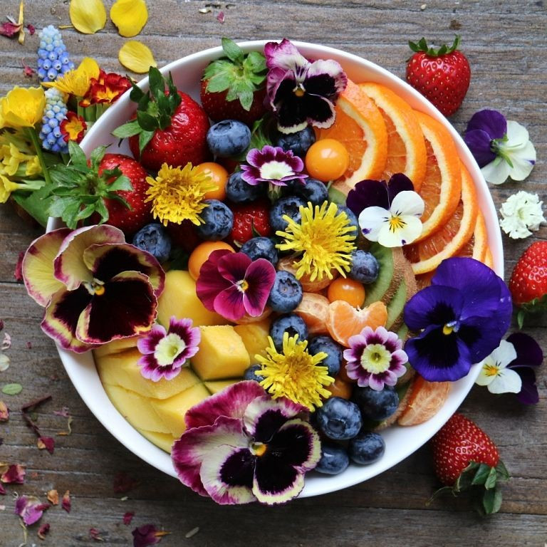 Twenty Edible Flowers