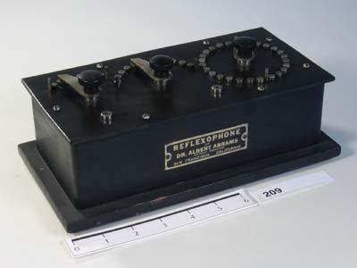Reflexophone - a 9 inch long rectangular black box