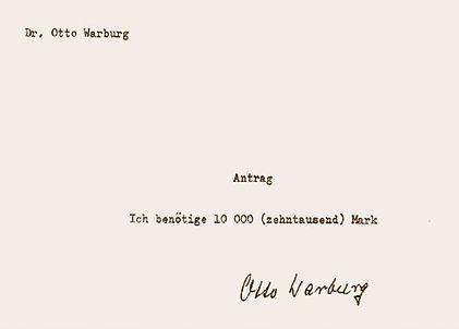 Application to the Notgemeinschaft der D
