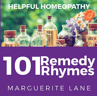 Helpful Homeopathy - 101 Remedy Rhymes