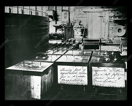 Tesla's Colorado Springs Laboratory (interior)