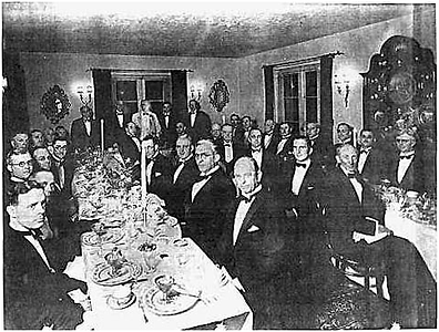 """""""The End of All Disease"""": in November 1931, Dr. Johnson invited 44 physicians to his home in Pasadena, California for a banquet to honor Rife and the work he was doing."""