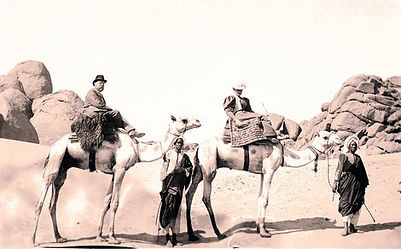 Hedwig Freiberg Travelling with Robert Koch Egypt 1896
