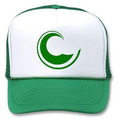 Golden Sand green cap