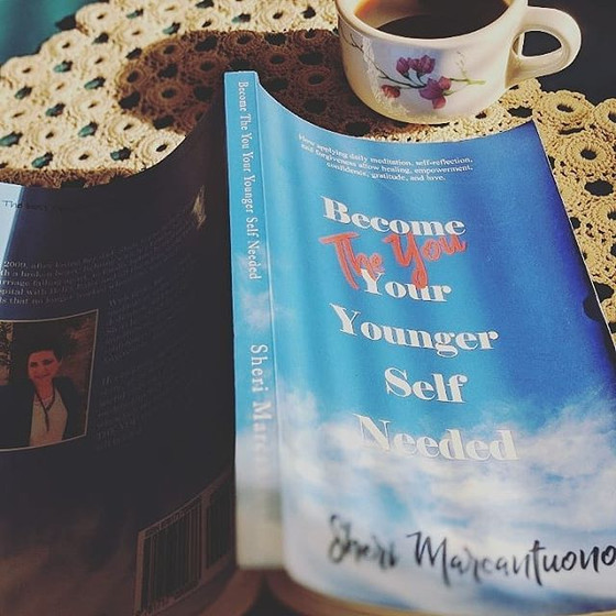 What's the buzz about Sheri Marcantuono's book, Become The You Your Younger Self Needed.