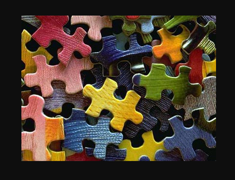 Any size puzzle gets donewhen you put the pieces together one at a time.