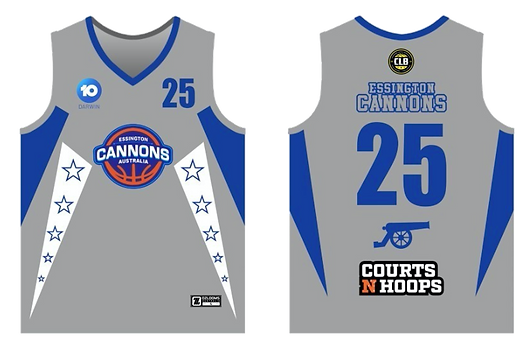Cannons Jersey
