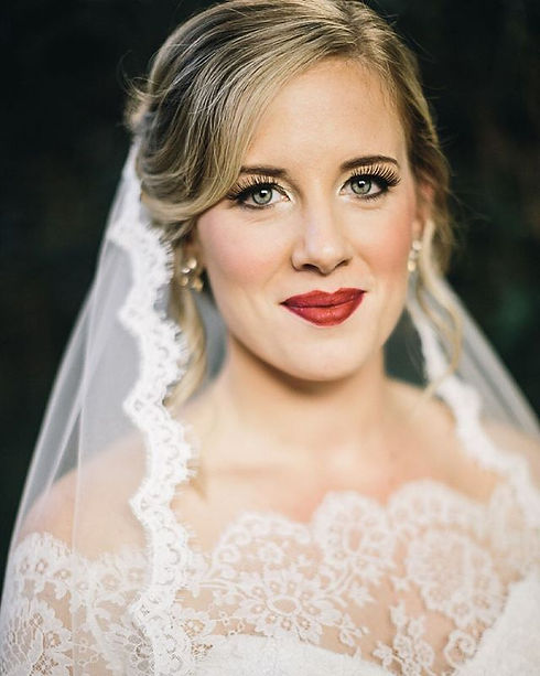 Beautiful bride from this past year. One