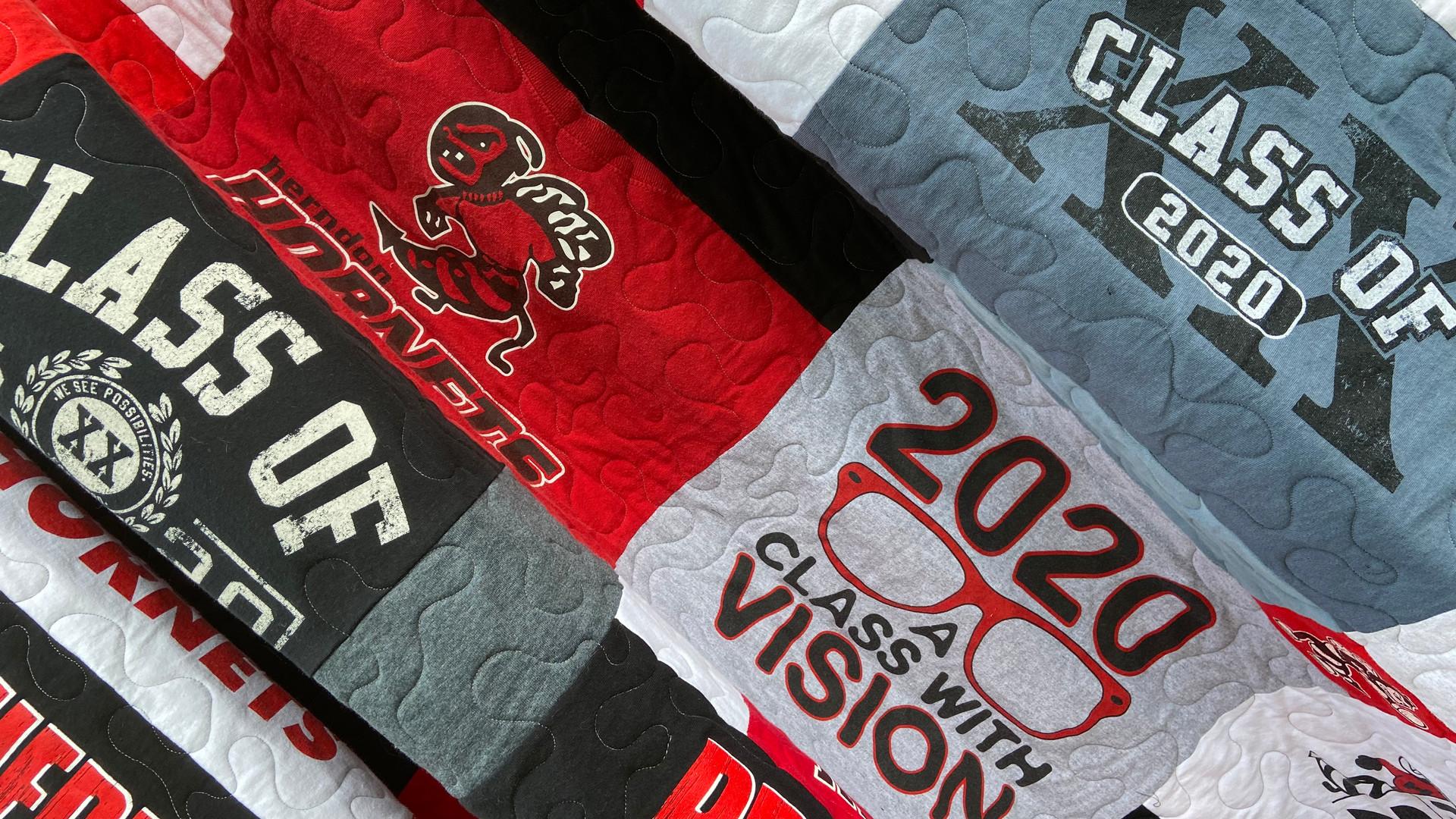 High school graduation quilt
