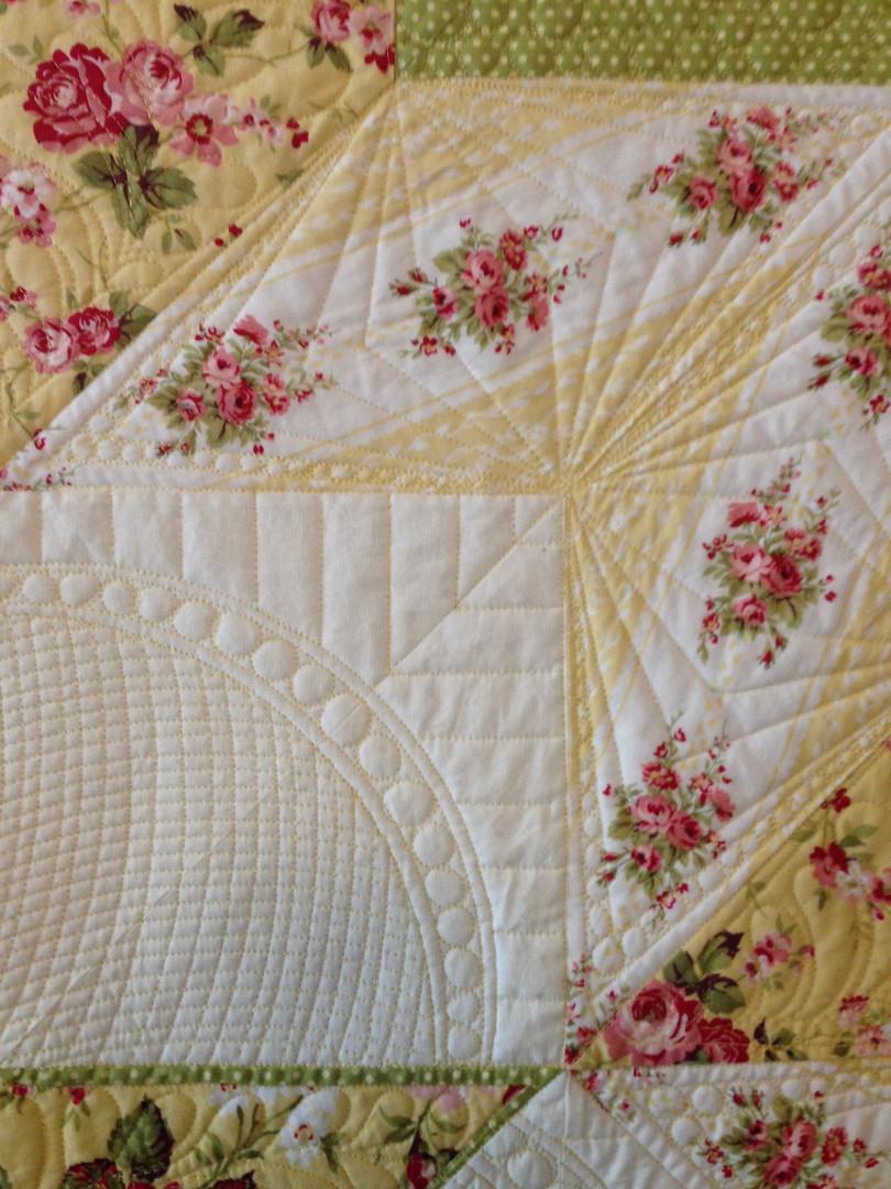 Custom star quilt