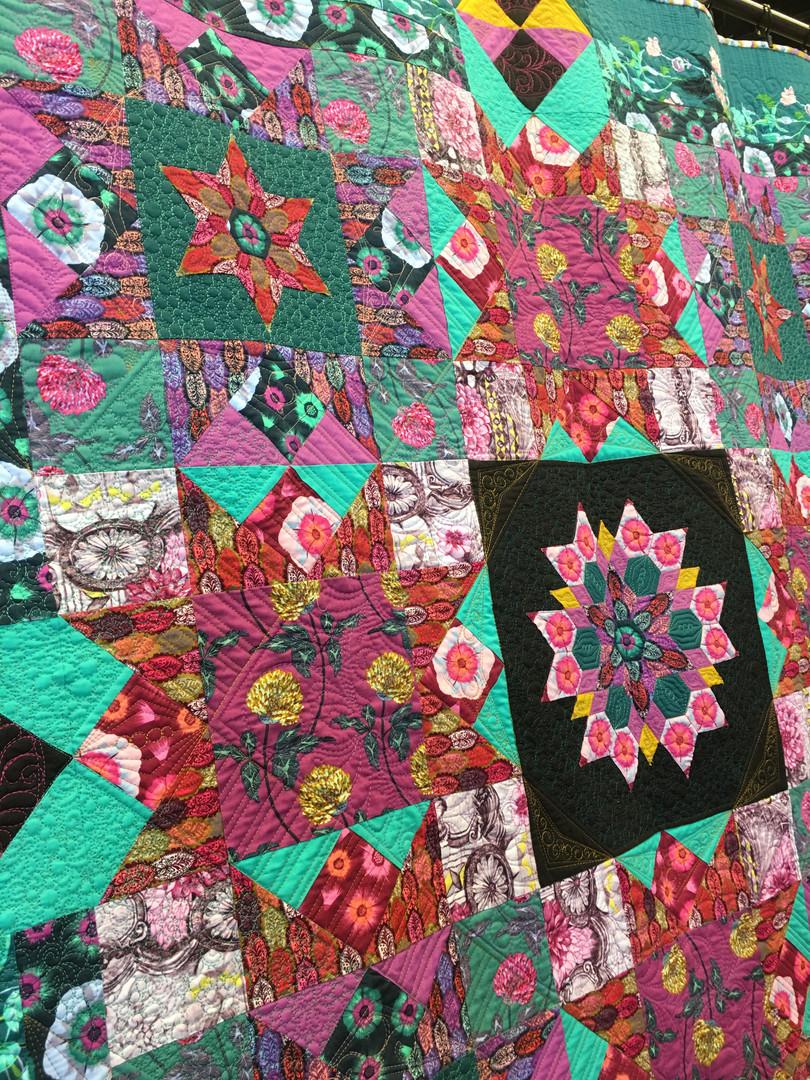 Custom Anna Marie Horner quilt