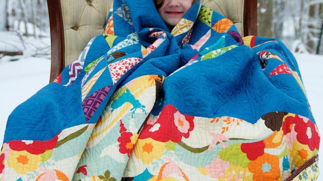 Snuggly custom quilt