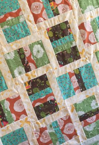 Elizabeth custom baby quilt