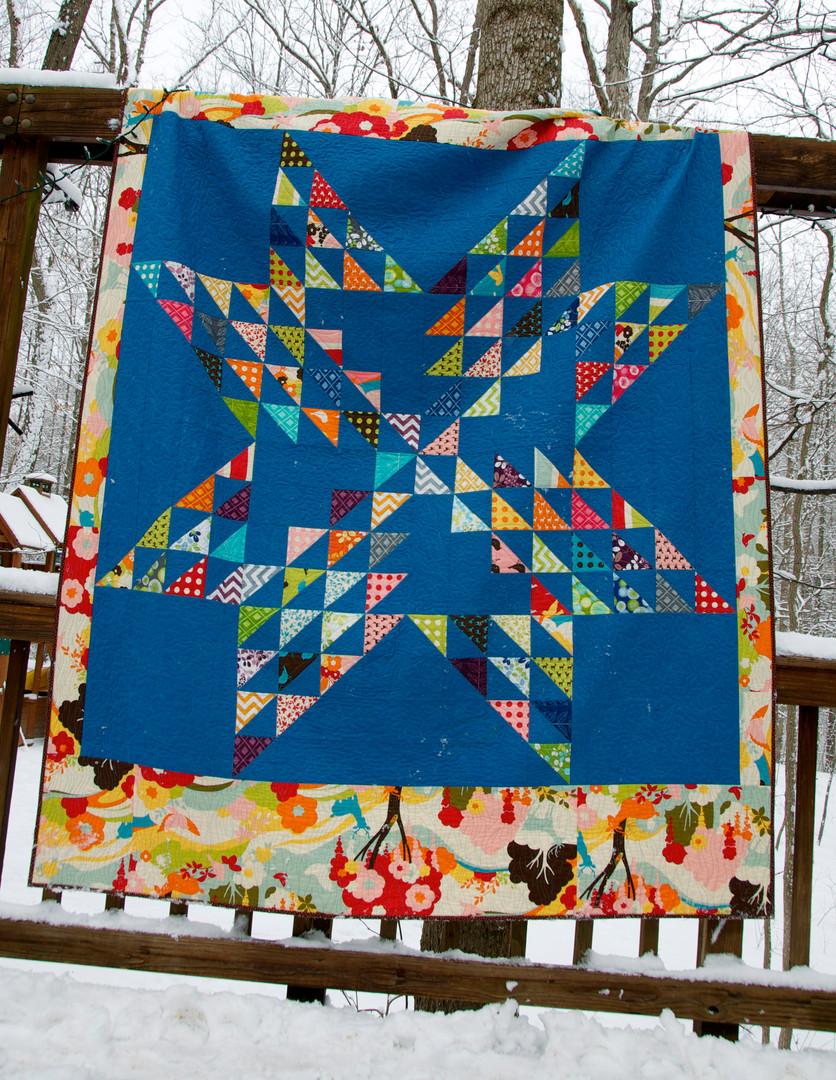 Custom kid's quilt