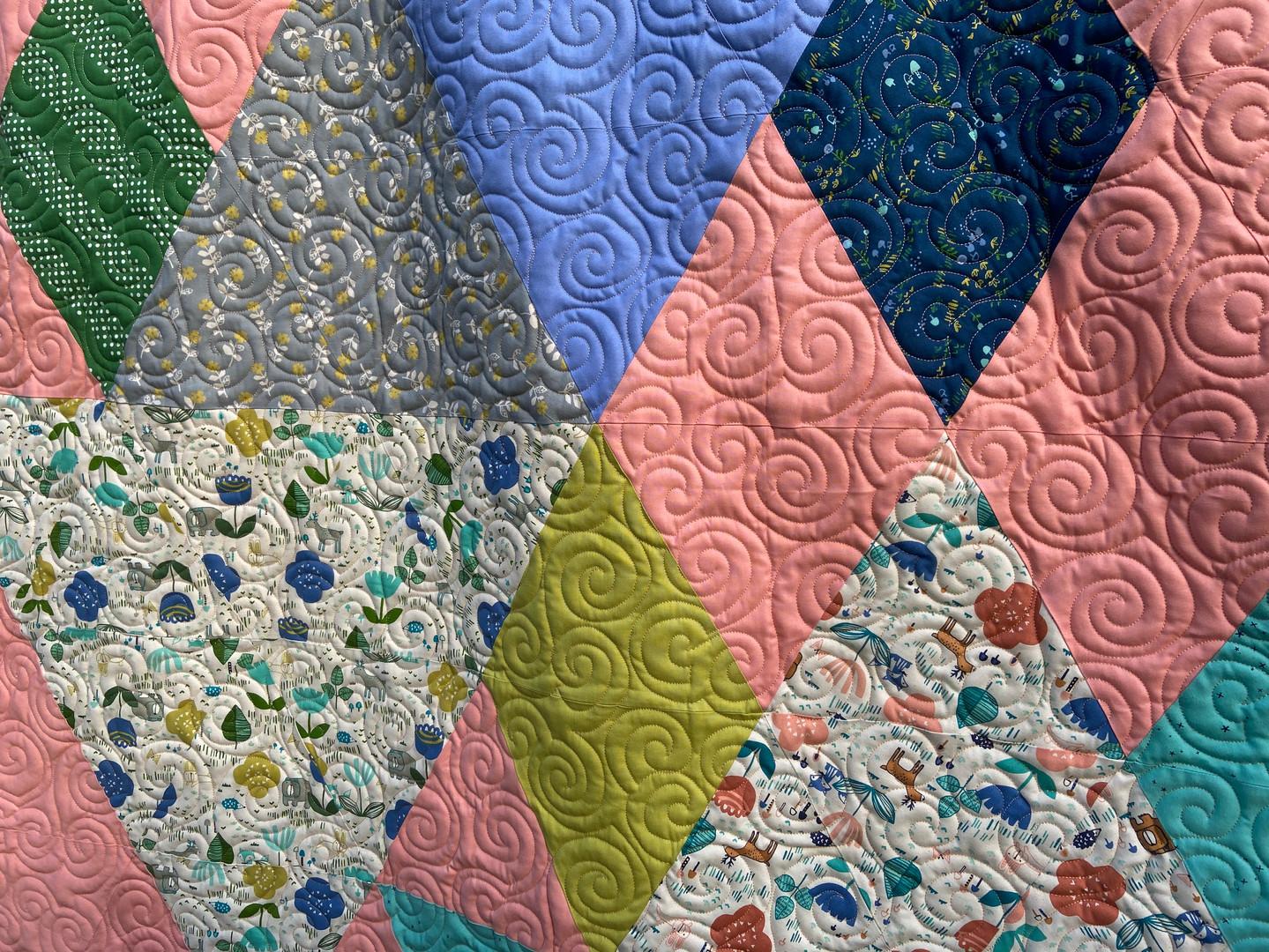 Modern quilt E2E