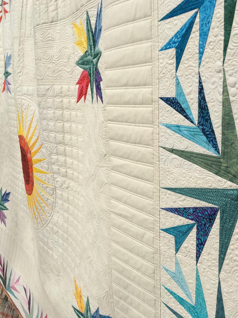 Custom wedding quilt