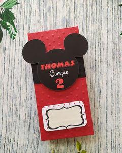 Tarjeta De Invitación Cumpleaños De Mickey Mouse Rompecabezas