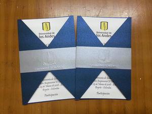 Tarjeta Invitación De Grado Universidad De Los Andes