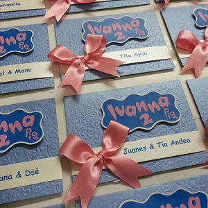 Tarjeta Invitacion De Cumpleaños Peppa Pig Fiesta Infantil