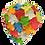 Thumbnail: Petal Swim Cap - Multi colour #50101