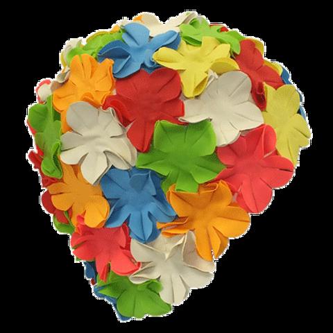 Petal Swim Cap - Multi colour #50101