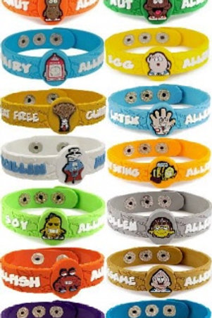 Allermates Allergy Wristbands Part One #870