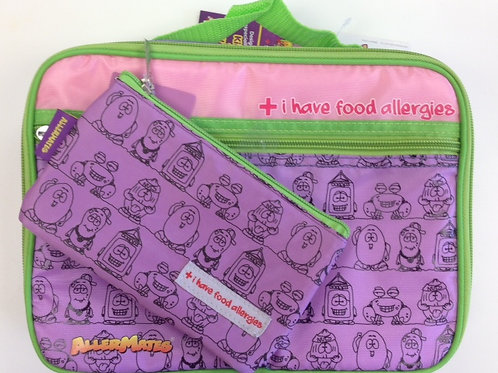 Allermates Lunch Bag w Snack Bag #885S