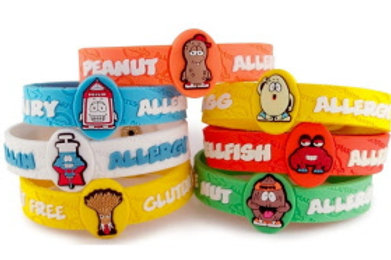 Allermates Allergy Wristbands Part Two #870