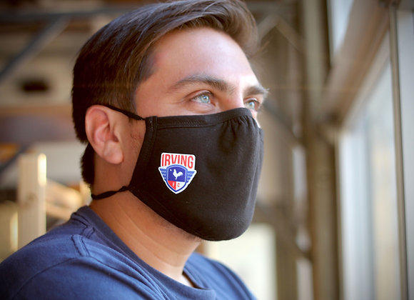 Irving FC face mask