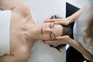 Kopfmassage
