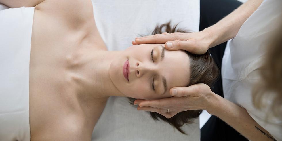 8 CEs | Basics of Cranio Sacral Massage Techniques II - Instructor Lin Roussel |  $155 (1)