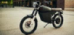 Electric Scrambler | Black Tea Motorbikes | Vintage electric moped