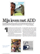 Charlotte van Drimmelen, ADD, Attention Deficit Disorder