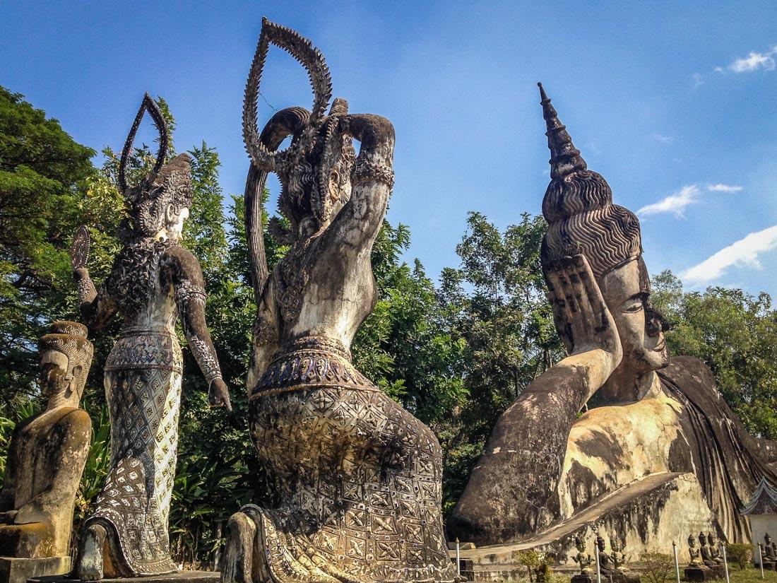 Vientiane et ses 200 Bouddhas