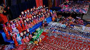 Marchés ethniques du Vietnam