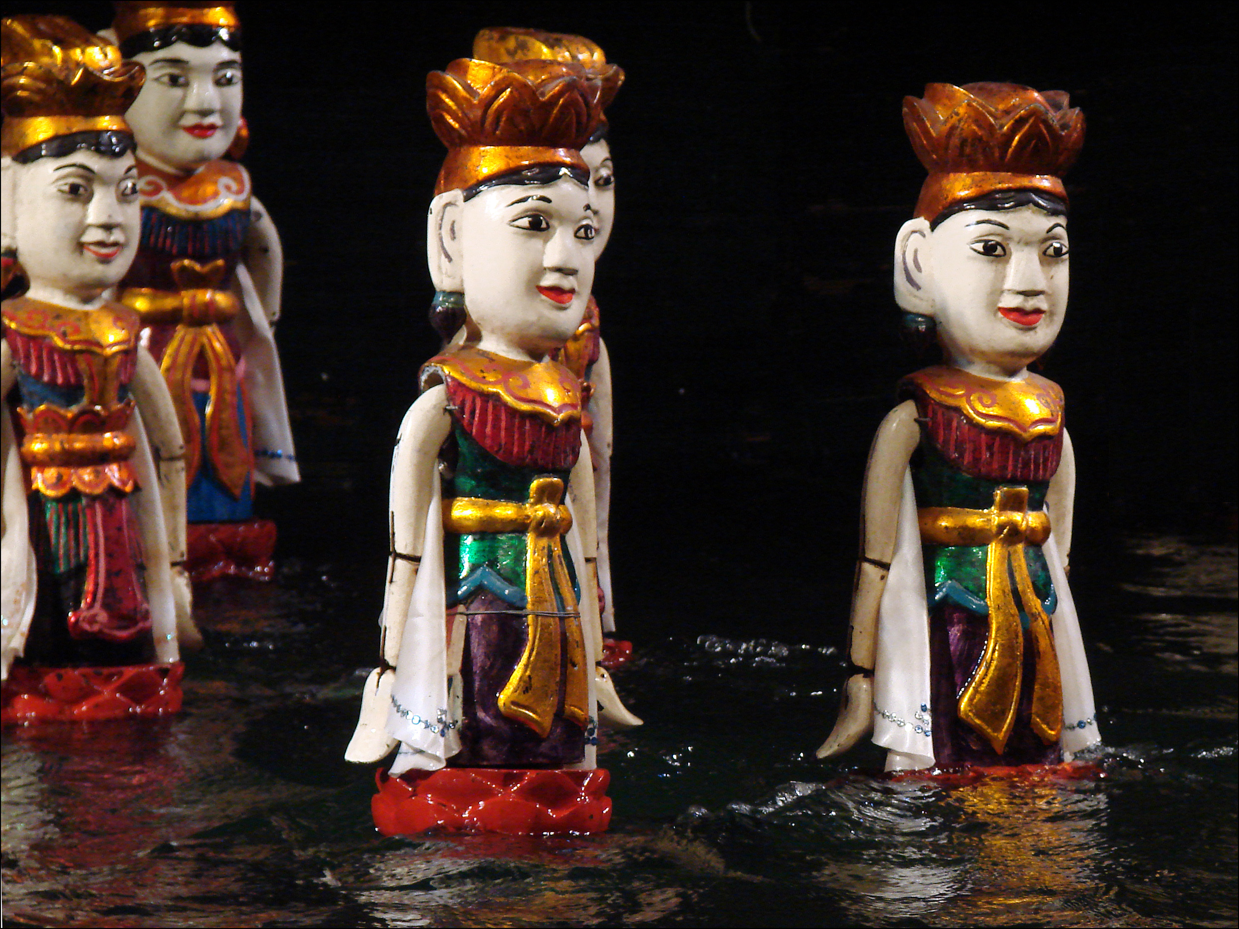 Spectacle de marionnettes à Hanoi