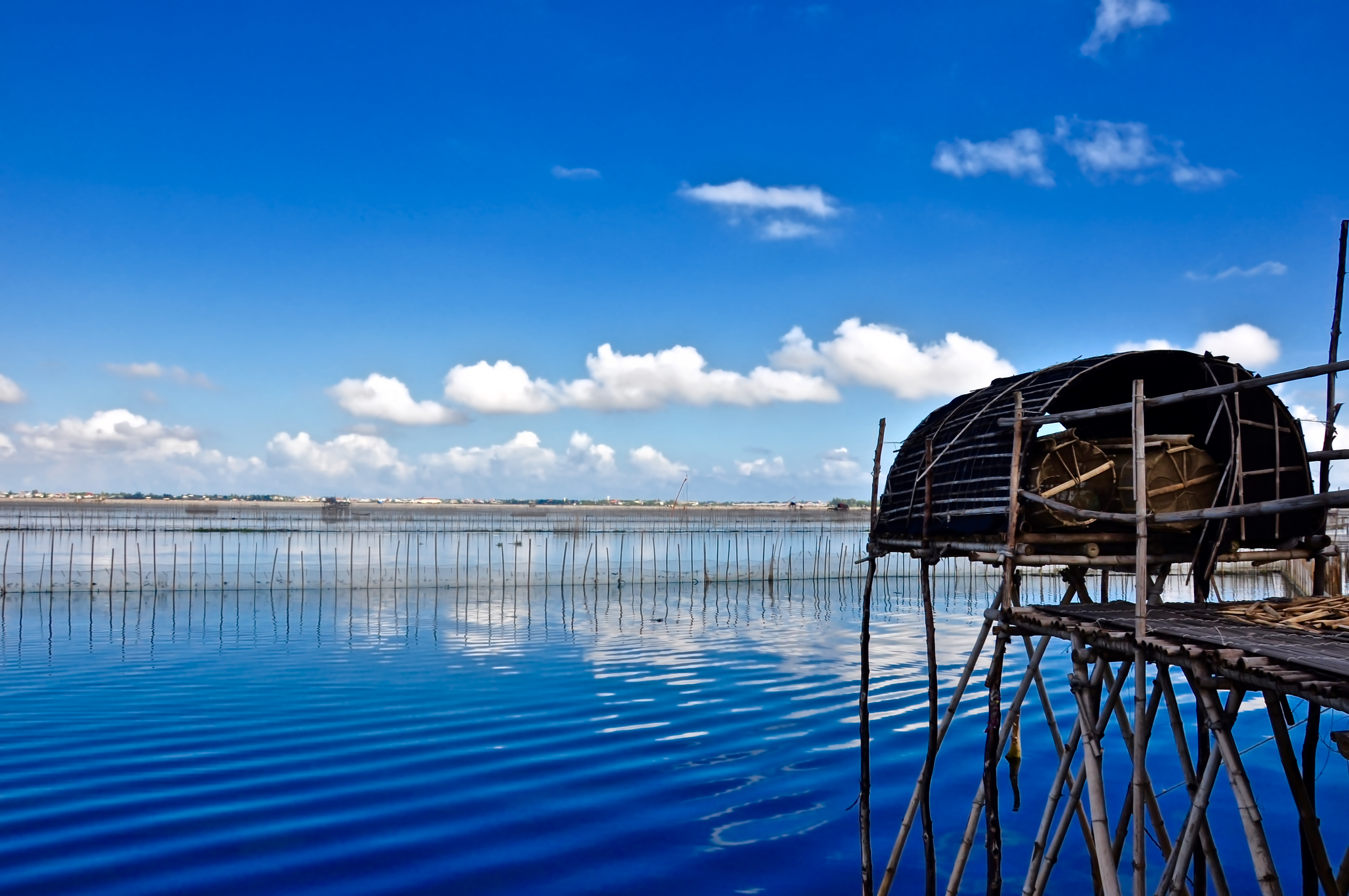 Lagune Chuon à Hué