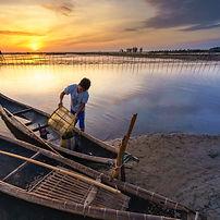 Lagune Chuon à Hué au Vietnam