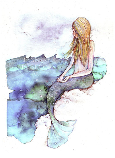 Ocean Dreamer Print