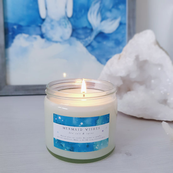 Mermaid Wishes candle